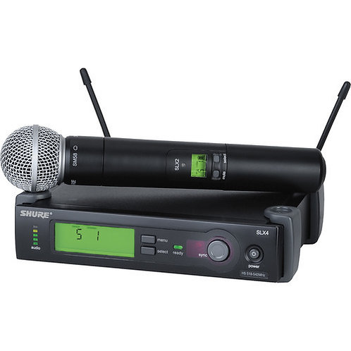 SHURE SLX HANDHELD WIRELESS SYSTEM