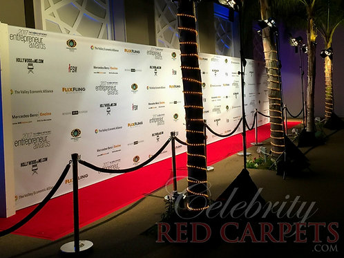 40ft STEP AND REPEAT PACKAGE - RENTAL