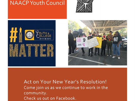 Happy Holidays from the East County NAACP Youth Council