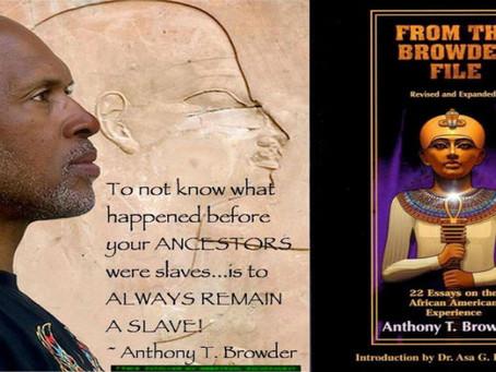 Anthony 'Tony' Browder Interview