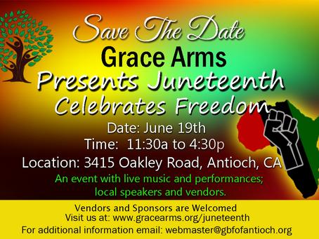 Juneteenth Celebration at Grace Arms
