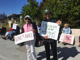 Friday Demonstrators