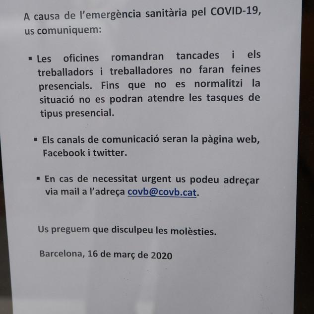 Col·legi oficial de veterinaris, COVB