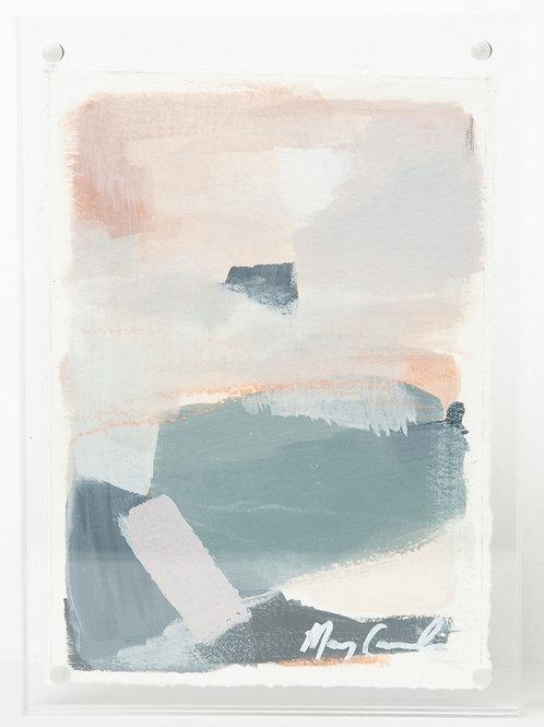 """Horizons"" Series (1) - 5 x 7 framed"