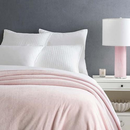 Fleece Slipper Pink Blanket - Twin