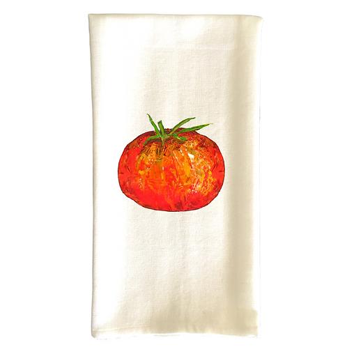Cotton Dish Towel - Tomato