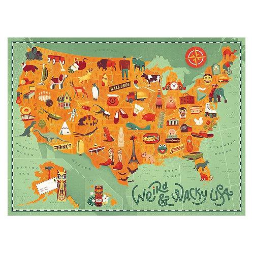 Weird and Wacky USA Puzzle - 500 pcs