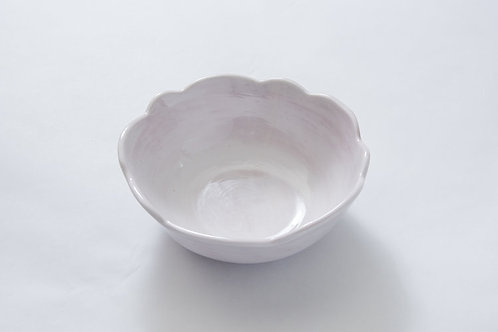 Melamine Scallop Bowl