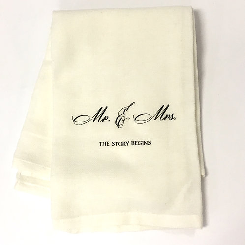Mr. and Mrs. Linen Towel