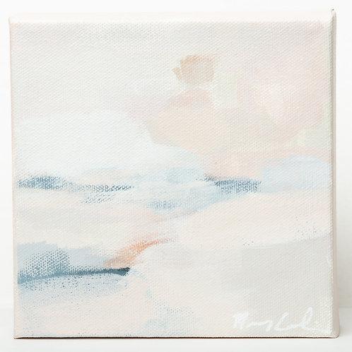 """""""Blushing Sunset"""" Series (5) - 6 x 6"""