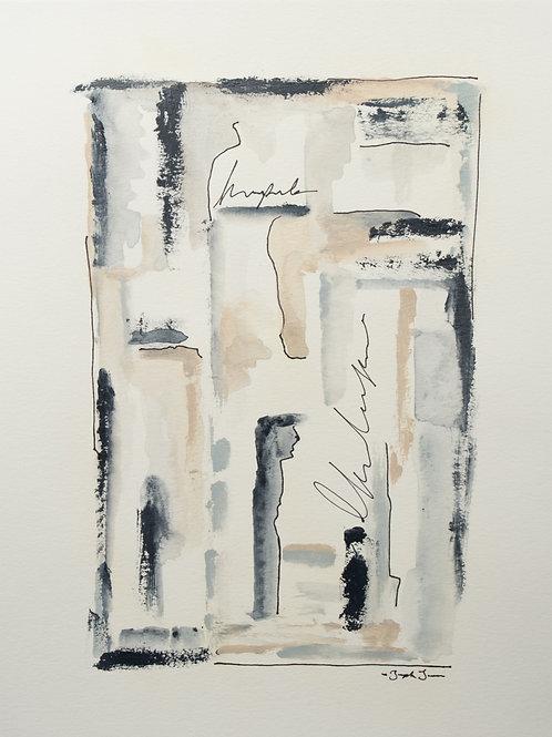 """The Breeze"" (2) - 11 x 14"