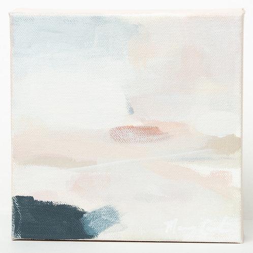 """""""Blushing Sunset"""" Series (3) - 6 x 6"""