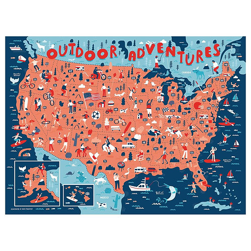 Outdoor Adventures Puzzle - 1000 pcs