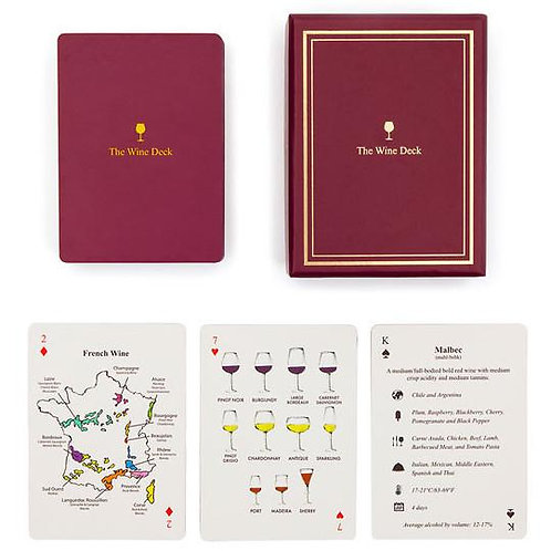 The Wine Deck Playing Cards