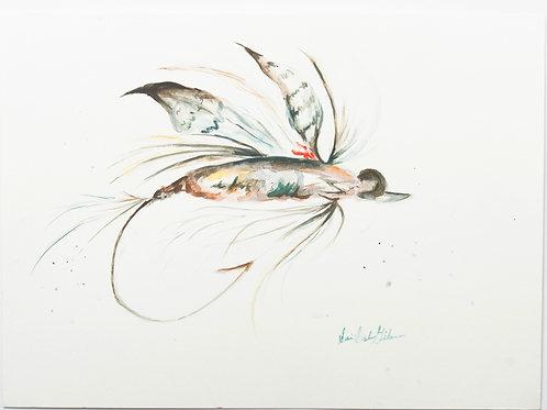 """Fishing Fly"" - 10 x 14"