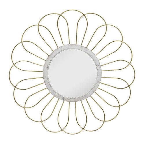 Gold Daisy Mirror