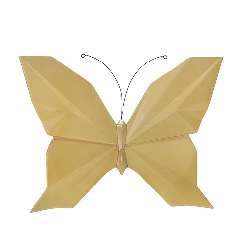 """Butterfly Wall Decor - 10"""" Gold"""
