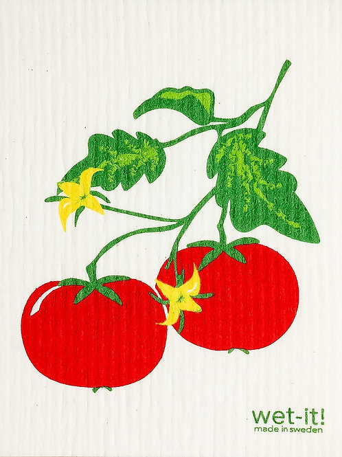 Swedish Dish Cloth - Tomato Vine