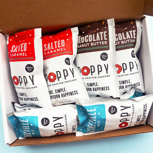 Poppy Popcorn Snack Care Package
