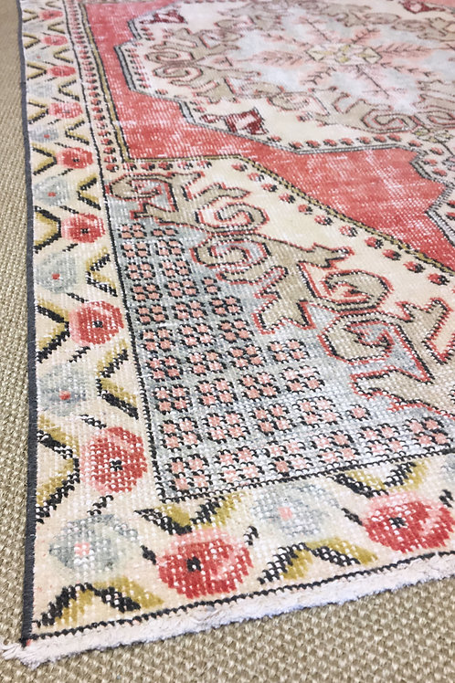 Vintage Hand Knotted Rug