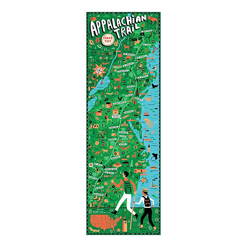 Appalachian Trail Puzzle - 750 pcs
