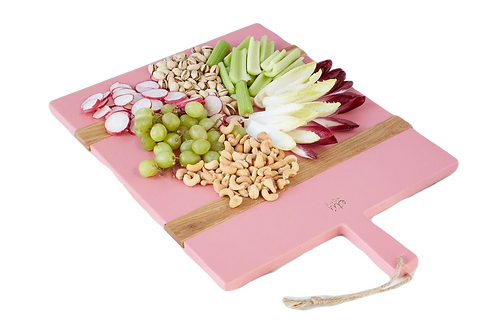 Rectangle Charcuterie Board - Pink
