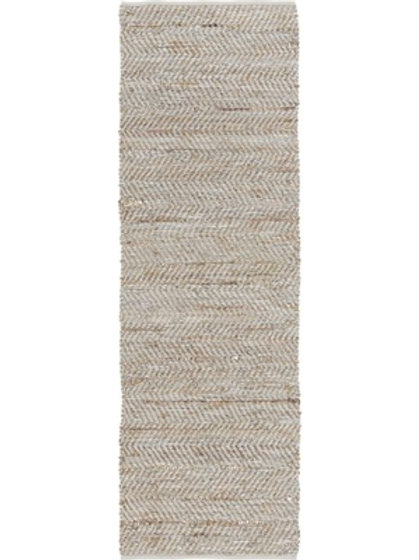 Leather and Jute Runner