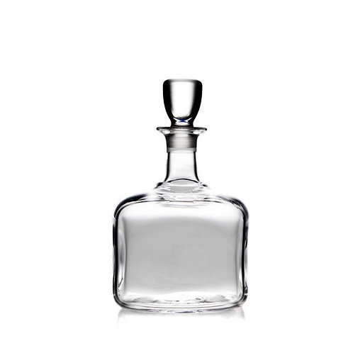 Simon Pearce Woodbury Glass Decanter