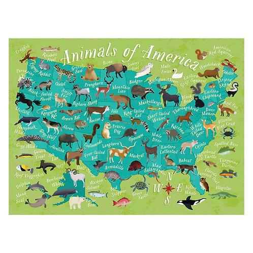 Animals of America Puzzle - 500 pcs