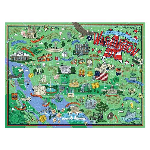 Washington, DC Puzzle - 500 pcs