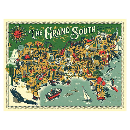 The Grand South Puzzle - 500 pcs