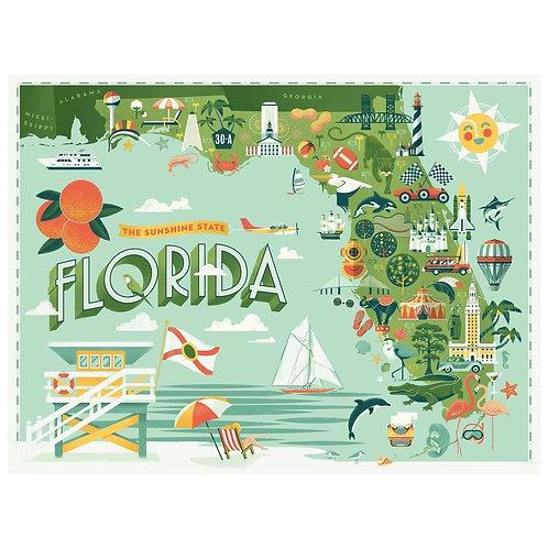 Florida Puzzle - 550 pcs