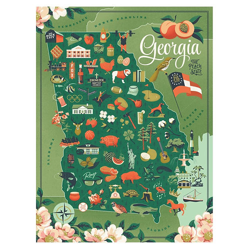 Georgia Puzzle - 500 pcs
