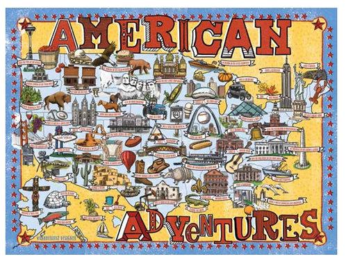 American Adventures Puzzle - 1000 pcs