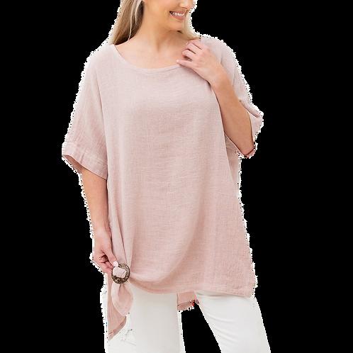 Regina Linen Top - One Size