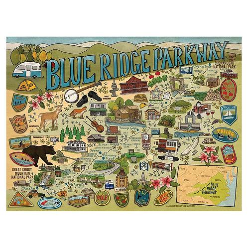 Blue Ridge Parkway Puzzle - 1000 pcs