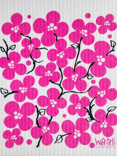 Swedish Dish Cloth - Flower Patch