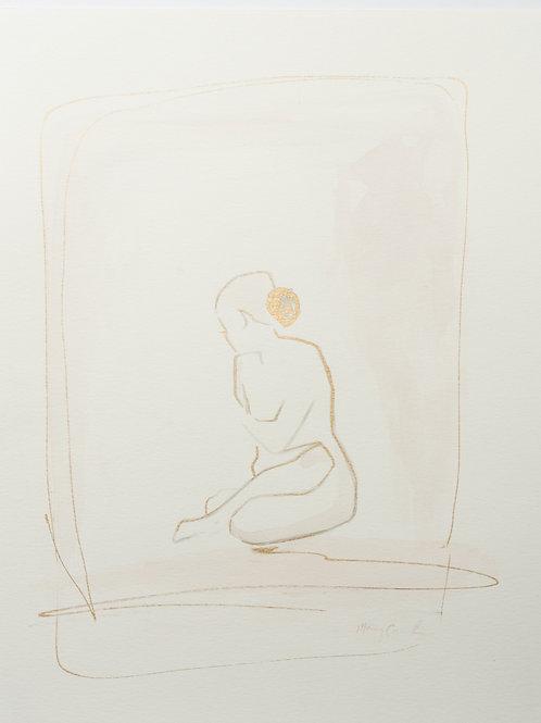 """""""Simple Ladies"""" Series (2) - 11 x 14"""