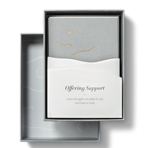 Light in the Dark: Cards of Support to Give and to Send — Boxed Note Cards