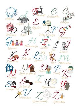 Svētku alfabēts