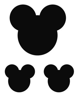 "Kūku dekori ""Mickey"""