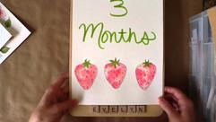 Mazuļa mēnešu kartītes