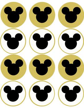 "Kūkas dekors ""Mickey Mouse"""