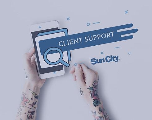suporte ao cliente omnicanal Sun City