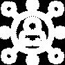 ícone de cluster empresarial