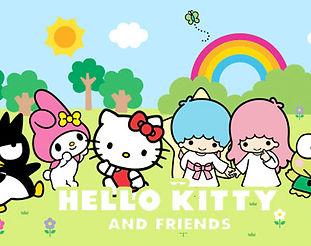hello kitty e amigos licença