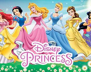 princesas da disney licenças