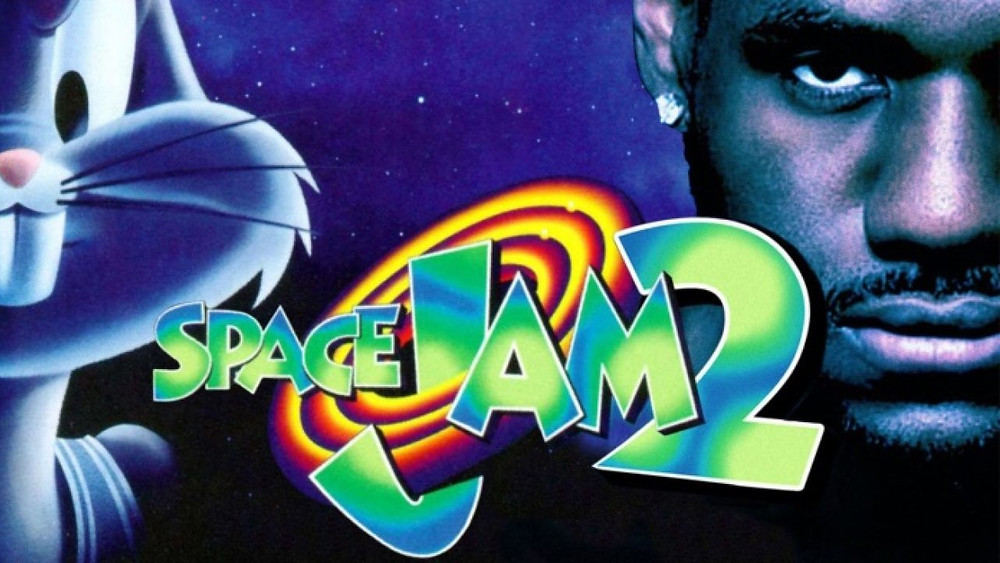 Space Jam 2 merchandising têxtil