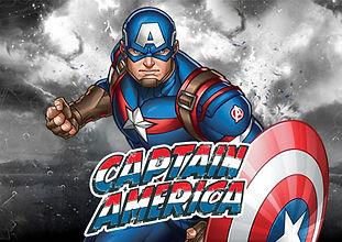 licença do capitão américa