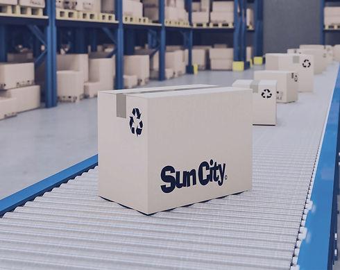 stock automático de produtos Sun City